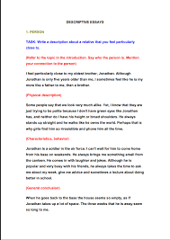 Learn How To Write A Descriptive Essay 5staressays