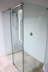 frameless roller shower door next prime line frameless sliding shower door roller and bracket set