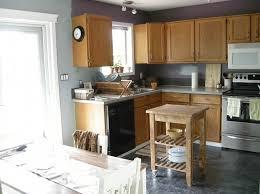 dark gray kitchen wall color photo