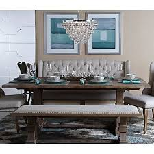 dining room set with booth seating. archer dining table | tables room furniture z gallerie set with booth seating