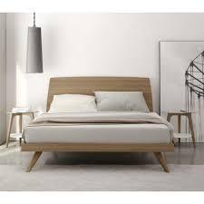 modern platform bed frames  including mid century california