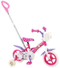 Volare Minnie Mouse 10 Inch Girls Fixed Gear Pink Internet Bikes
