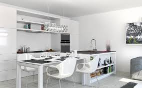 Studio Apartment Kitchen White Studio Apartments