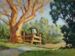 tom brown fine art large rural landscape painting by tom brown