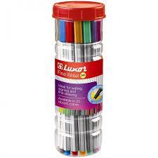 <b>Luxor Набор</b> капиллярных ручек Fine Writer 045 20 цветов ...
