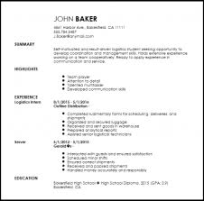 Logistics Coordinator Cover Letter Formatted Templates Example