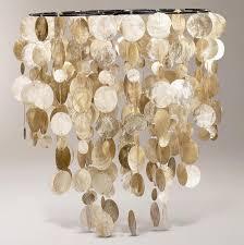 exciting capiz chandelier and diy capiz shell chandelier