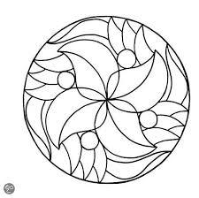 Kleurplaten Voor Dementerenden Mandala Kleurplaat Makkelijk Google