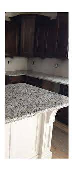 Tile Backsplashes With Granite Countertops Enchanting Backsplash With Dallas White Granite