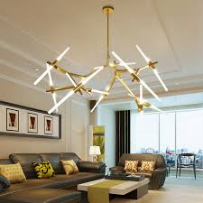 modern led chandelier for living room dining lampadario inside chandeliers inspirations 2