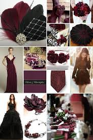 Black and Maroon Weddings. I like this too! Preston/Porterfield wedding  (With images) | Vampire wedding, Maroon wedding, Burgandy wedding