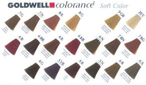 Goldwell 6rb Colour Chart Goldwell Colorance Soft Color Mousse 4 22 Oz Goldwell