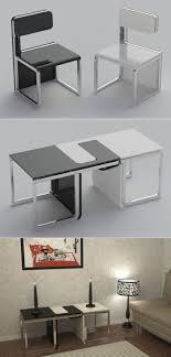 smart furniture design. Sensei Chair / Table Set From Claudio Sibille - Concept Design By Edigu. Smart Furniture F