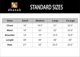T Shirt Size Chart India Vs Usa Toffee Art