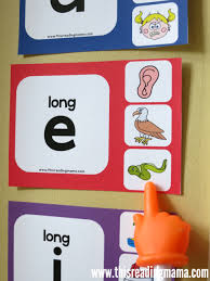 Free Long Vowel Wall Charts