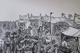 book fair drawing at getdrawings the fair of turloughmore