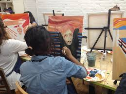 check out these photos from ffir lorena s program when she took residents to the painting lounge