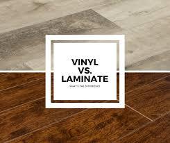 vinyl vs laminate
