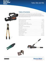 Alcoa 60 Ton Die Chart Tools Dies And Kits