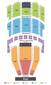 Grandel Theatre Seating Chart The Washington Ballet The Nutcracker Tickets At Warner