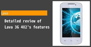 Lava 3G 402 - Features and reviews ...