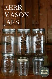 kerr is a range of mason jars for home canning they can also be used for freezing dry storage and decorative functions