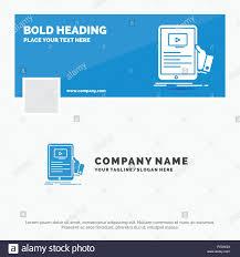 Seminar Design Template Blue Business Logo Template For Forum Online Webinar