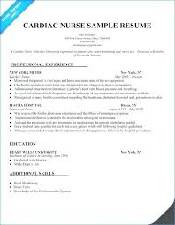 Example Of Nurse Resume Resume Nurse Example Nursing Resume ...