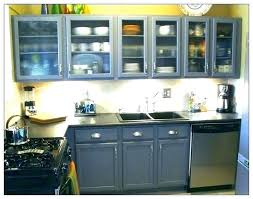 vintage metal kitchen cabinet painted cabinets refinishing with sink