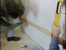 how to lay wall tiles in bathroom how to tile a bathroom wall the home depot
