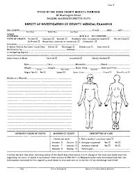 Autopsy Report Template Atlantaauctionco Com
