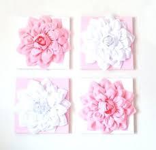 ceramic flower wall decor fl prints glass art blue kids 3d cera
