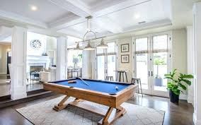 pool table rug s size