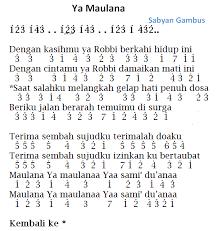 Dapatkan lirik lagu lain oleh ebiet g ade di kapanlagi.com 3 Lirik Lagu Ayah Seventeen Not Pianika