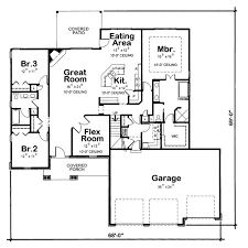 17012200 SQ Feet 3 Bedroom House Plans2200 Square Foot House Plans