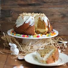 Carrot Cake Cheesecake Gugelhupf Bake To The Roots