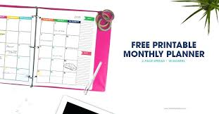 Free Printable 2019 Daily Planner Calendar Den Architectures