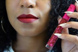 red liquid lipsticks for dark skin