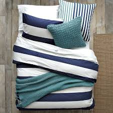 blue and white striped bedding navy blue and white striped bedspread