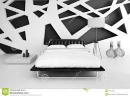modern black and white bedroom interior black white bedroom interior