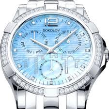 <b>Мужские стальные часы</b> арт. 320.71.00.000.03.01.3 от SOKOLOV