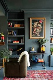 9 Dark, Rich & Vibrant Rooms that Will Make You Rethink Everything You Know  About Color (living room wall color?