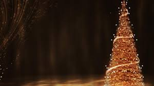 christmas tree backgrounds for desktop. Exellent Desktop Gold Christmas Tree Throughout Backgrounds For Desktop S