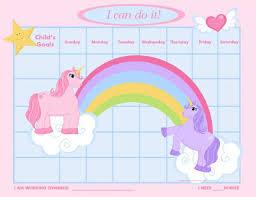 Sticker Reward Chart Pdf Unicorn Sticker Chart Printable Bedowntowndaytona Com