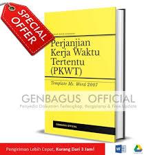 Membuat surat perjanjian kerja (spk) atau kontrak kerja menjadi suatu kewajiban bagi karyawan baru. Jual Template Perjanjian Kerja Waktu Tertentu Pkwt Contoh Kontrak Kerja Kota Semarang Genbagus Tokopedia