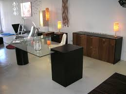 contemporary office tables. The Modern Look Of L Desk Can Be Reached Through Sliding Keyboard Tray, A Contemporary Office Tables I
