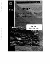 essays on conflict peace and development