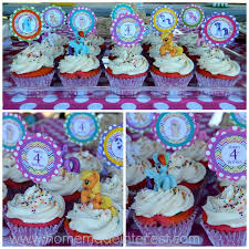 mylittlepony cupcake collage