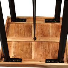 Vidaxl Bar Set 3 Tlg Sheesham Holz Massiv Und Altholz
