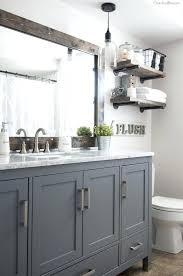 diy bathroom mirror frame ideas. Diy Bathroom Mirror Frame Ideas How To A Cherished Bliss Farmhouse Industrial . D
